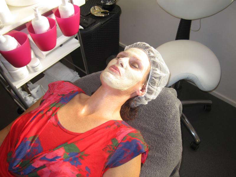 Gratis maskerbehandeling